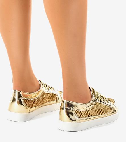 Beżowe sneakersy damskie Broadway