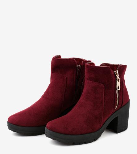Czarne sneakersy na grubej podeszwie Lovely Bodies
