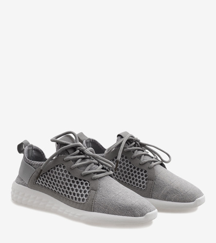 Szare sneakersy Sandi